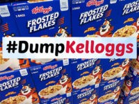#DumpKelloggs Petition Generates 250,000 Signatures in Two Days