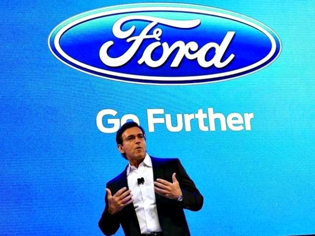 Ford, Mark Fields Reuters