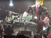 Guns N' Roses Invite Fans Onstage to Beat Donald Trump Piñata (Video)