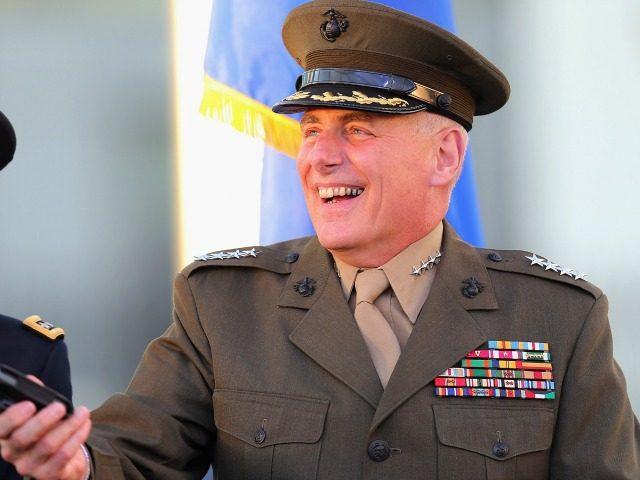 U.S. Marine General John F. Kelly November 19, 2012 in Doral, Florida.