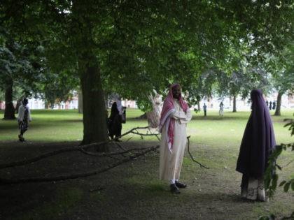 The Muslim Festival Of Eid al-Fitr Is Celebrated Around The UK