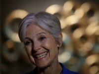 Green party nominee Jill Stein during a campaign rally at the Hostos Center for the Arts & Culture on October 12, 2016 in New York City. Jill Stein and her running mate Ajamu Baraka are campaigning in New York.