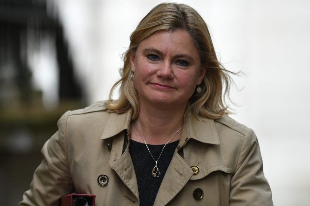 British Education Secretary and Minister for Women and Equalities Justine Greening arrives for the weekly cabinet meeting at 10 Downing Street in London on October 18, 2016. British Prime Minister Theresa May's office sought to downplay cabinet tensions over Brexit on October 17 after reports her finance minister is antagonising colleagues with his warnings about the economic dangers. / AFP / JUSTIN TALLIS (Photo credit should read JUSTIN TALLIS/AFP/Getty Images)