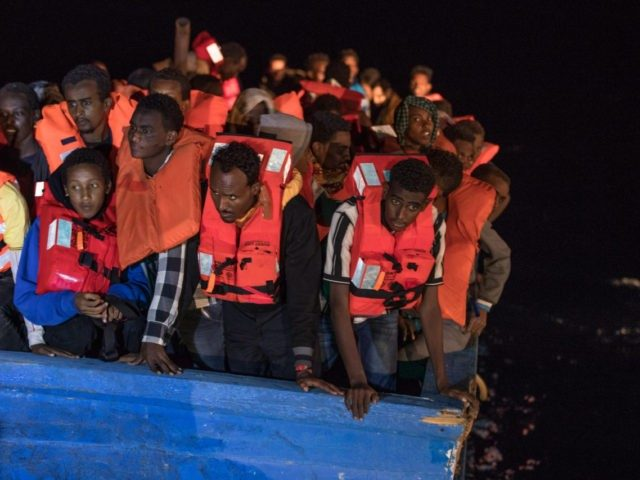 MOAS Conduct Rescue Operations Off The Libyan Coast