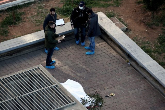 GREECE-POLICE-SHOOTOUT