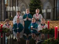 Salisbury Choristers Prepare For Their Christmas Services
