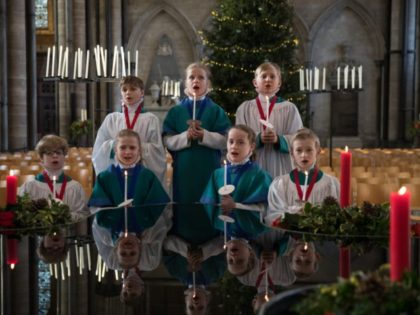 Salisbury Choristers Prepare For Their Christmas Services