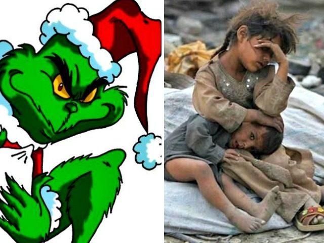 Grinch and Needy Children