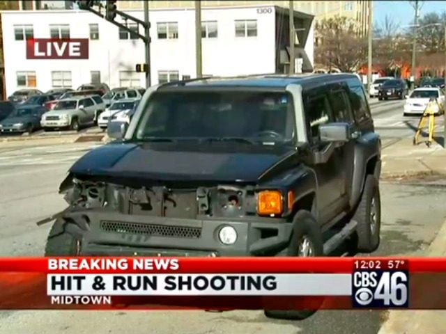 Hit and Run Shooting-Hummer