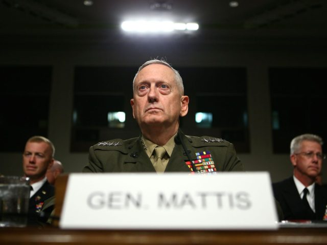 James Mattis (Alex Wong / Getty)