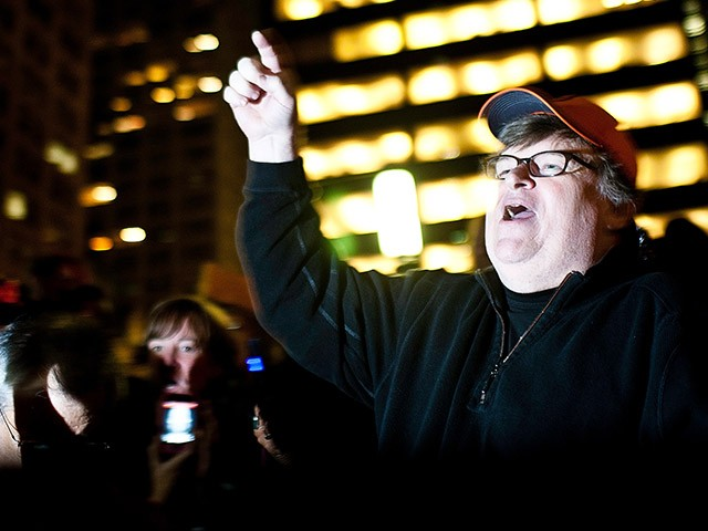 Resistance: Michael Moore Says Trans Troops Should 'Refuse to Leave' Military