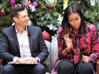 Michelle Obama, Seacrest-D.C.-Dec. 12, 2016-AP