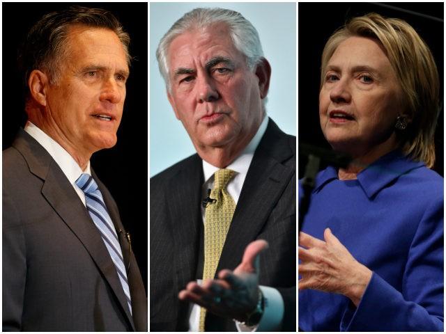 Mitt-Romney-Rex-Tillerson-Hillary-Clinton-Getty