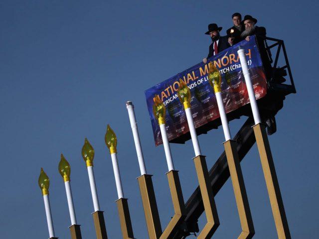 National Menorah Lighting (Wim McNamee / Getty)