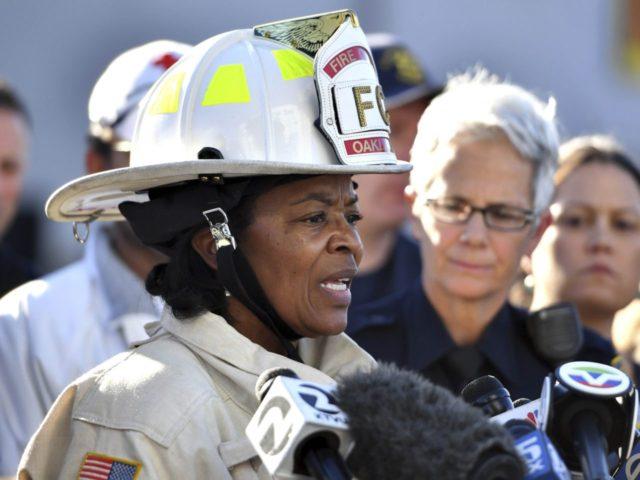 Oakland fire chief (Josh Edelson / Associated Press)