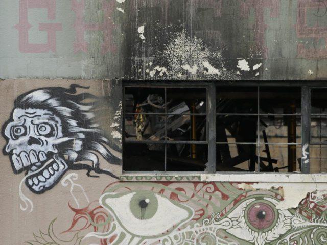 Oakland fire warehouse (Eric Risberg / Associated Press)