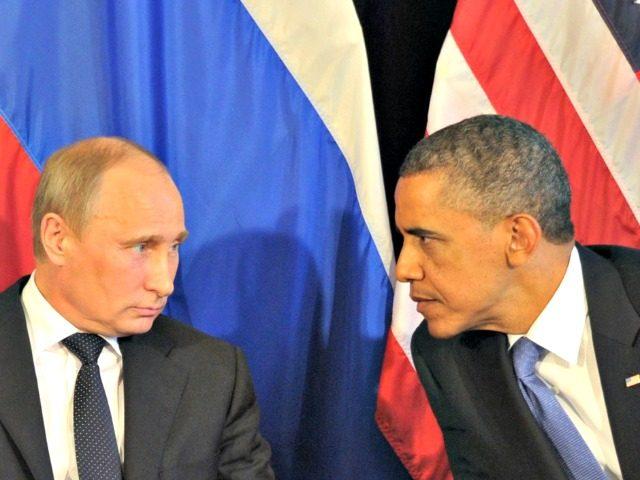 Obama vs Putin AFP.