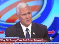 Pence: 'Mystifying' Obama a Hero for Talking to Dictators But It's a Controversy Trump Talks to Taiwan