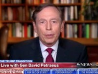 Petraeus Said He Did Not Vote in This Election, Tried to Be 'Apolitical'