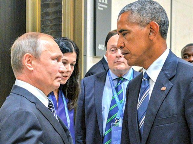 Putin vs Obama AP