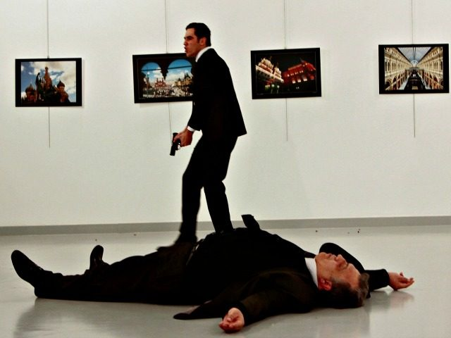 Russian Amb, Assassin-Turkey-Dec 20, 2016-Credit Hasim KilicHurriyet, via Reuters