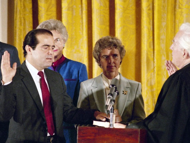 Scalia sworn in AP