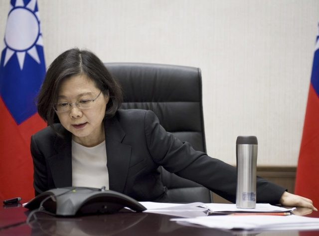 Taiwan president Tsai Ing-wen (Associated Press)