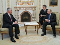 Tillerson and Putin AP