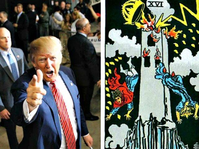 Trump Takedown-AP-Waite Deck Tarot