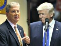 Trump Stumps for GOP Senate Candidate John Kennedy: 'He Will Be a Fighter for You'