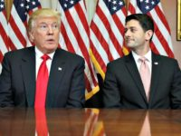 Trump with Ryan AP