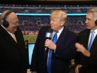Watch: Trump Greeted With Cheers at Army-Navy Game