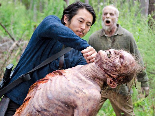 Walking Dead fight AMC
