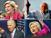 Warren, Sanders, Clinton, Biden