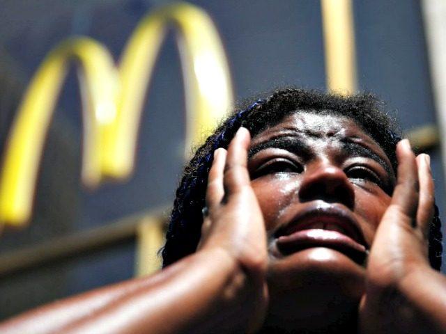 Woman Upset McDonald's AP