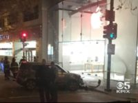 Apple Store Robbed After Car Drives Through Front Window