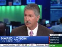 US Steel CEO: Could Rehire 10,000, Trump Victory Bringing 'Environment of Positive Optimism'
