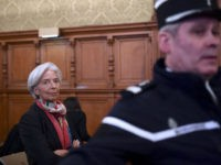 (AFP) - IMF boss Christine Lagarde was in a Paris …