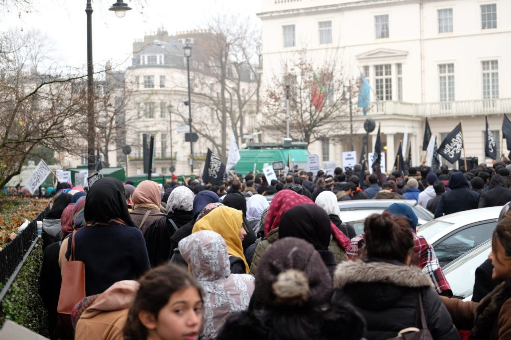 Hizb ut-Tahrir demo London