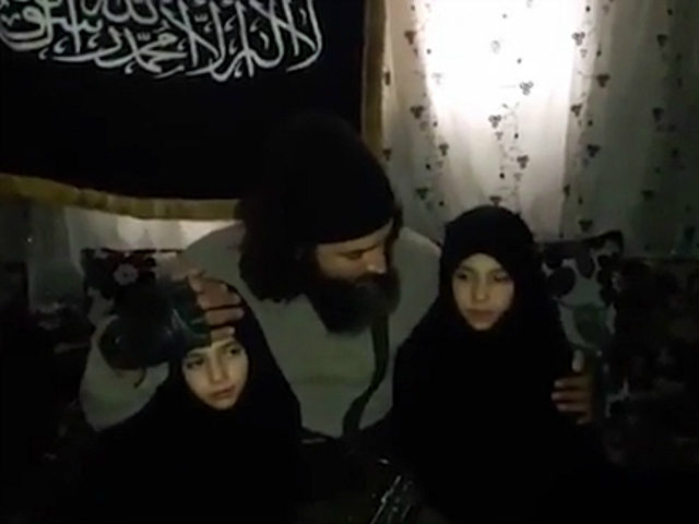 Syrian Jihadi Parents Kiss Daughters Goodbye Before One Is Blown Up in Suicide Bombing