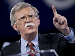 John Bolton, former U.S. ambassador to the United Nations (UN), speaks during the American Conservative Unions Conservative Political Action Conference (CPAC) meeting in National Harbor, Maryland, U.S., on Thursday, March 3, 2016. CPAC runs until March 5 with the five remaining 2016 Republican presidential candidates speaking. Photographer: Andrew Harrer/Bloomberg via Getty Images