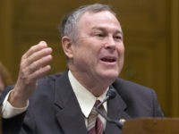 Washington, UNITED STATES: US Representative Dana Rohrabacher, Republican from California, testifies on the business perspectives of comprehensive immigration reform during a hearing by the US House Judiciary committee's subcommittee on Immigration, Citizenship, Refugees, Border Security, and International Law, on Capitol Hill in Washington, DC, 06 June 2007. A US Senate …