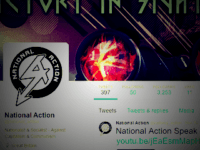 National Action twitter page
