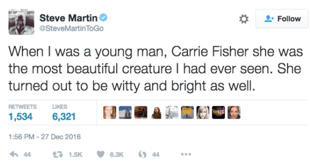 steve-martin-carrie-fisher-tweet