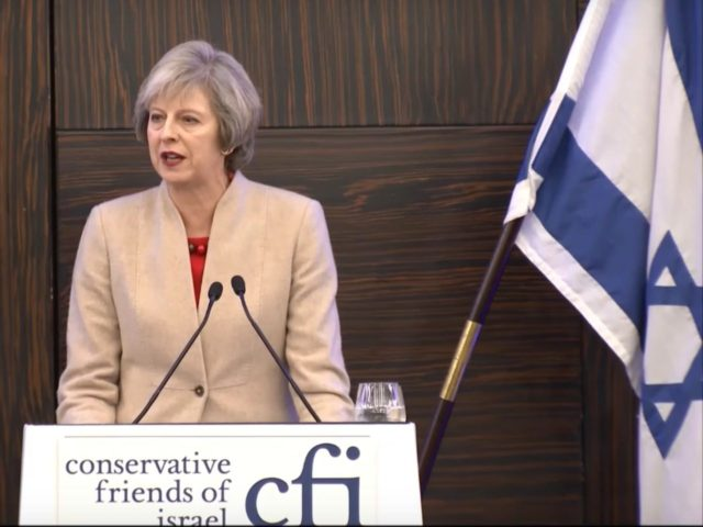 theresa may israel