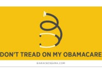 Obama's Organizing for Action Throws Fire Sale: 60% Off 'Don't Tread on My Obamacare' Bumper Sticker