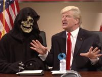 Watch: SNL Portrays Breitbart's Steve Bannon as the Grim Reaper