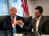 Report: Peter Thiel 'Put His Money Where His Mouth Is' with Trump Victory Committee