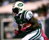 Former New York Jets running back Joe McKnight played for four years in the NFL with the New York Jets and the Kansas City Chiefs