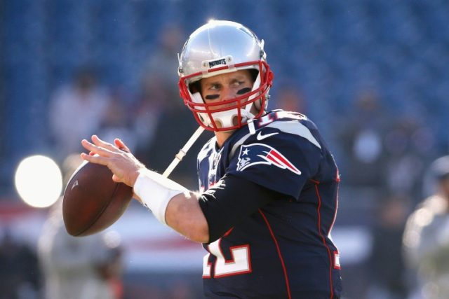 Tom Brady piloted the New England Patriots to a 26-10 victory over the Los Angeles Rams, his 201st NFL triumph breaking the all-time record for wins by a quarterback